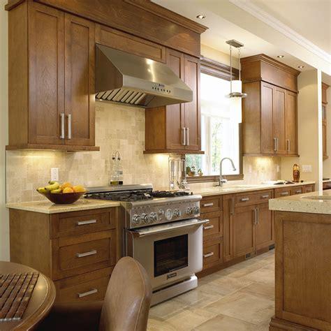armoire cuisine en bois cuisines beauregard cuisine réalisation 124 cuisine