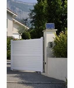 Portail Electrique Solaire : portail automatique solaire ~ Edinachiropracticcenter.com Idées de Décoration