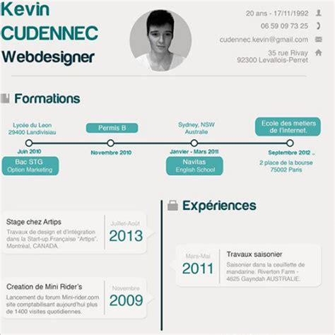 Infographic Resume Psd Template by Infographic Resume Template Word Pdf Formats Creative