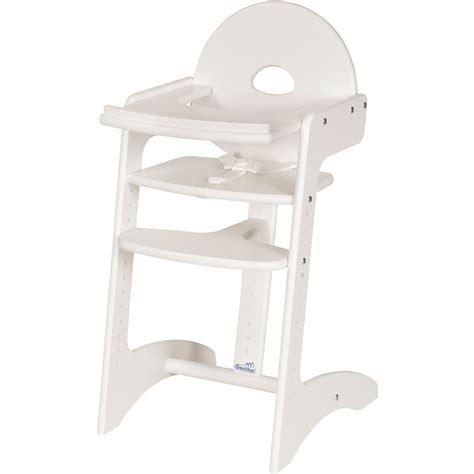 chaise haute blanche chaise haute bébé filou blanche de geuther en vente chez cdm