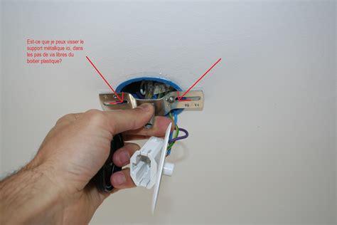 fixer un crochet au plafond fixation d une suspension dans boitier dcl 9 messages