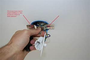 Comment Installer Un Lustre : fixation d 39 une suspension dans boitier dcl 9 messages ~ Dailycaller-alerts.com Idées de Décoration
