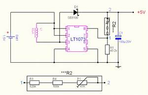 1 5v To 5v 12v Dc Dc Converter With Lt1073