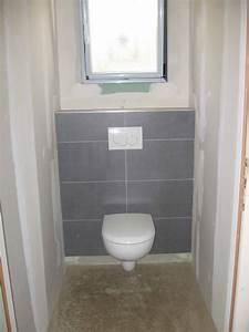 Pose Toilette Suspendu : wc suspendu la construction de fortitou ~ Melissatoandfro.com Idées de Décoration