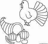 Coloring Horn Plenty Thanksgiving Turkey Fall Pages Autumn Cute Horns Print Template Activity Precious Moments Pilgrim Getcoloringpages Bigactivities Happy sketch template
