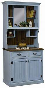 Amish, Burbank, Country, Style, Hutch, By, Dutchcrafters