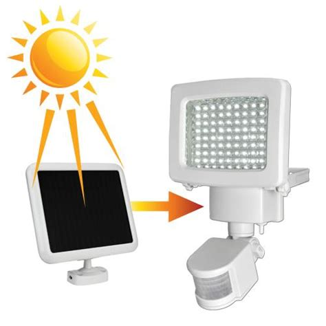 sunforce 80 led solar motion light new ebay