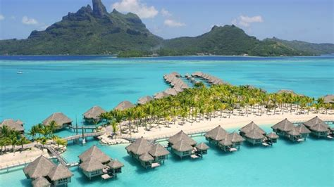 Overwater Bungalows Closest To Hawaii  Overwater Bungalows