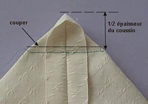 Comment Recouvrir Un Canapé D Angle : coupe couture coussin pais 1 re m thode ~ Melissatoandfro.com Idées de Décoration