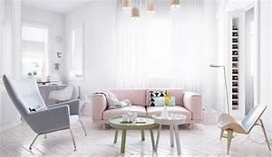 Wohnzimmer Scandi Style : einrichtungsbeispiele f r wohnzimmer 30 sch ne ideen und tipps ~ Frokenaadalensverden.com Haus und Dekorationen