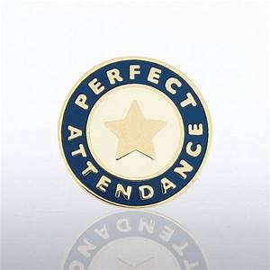Lapel Pin - Perfect Attendance Star at Baudville.com