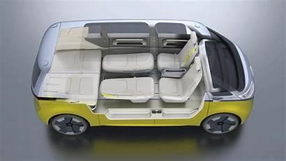 Buzz Volkswagen Electric Campervan Concept Vw Bus