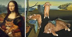 Fat Cat Art: I Insert My Ginger Cat Into Famous Paintings ...