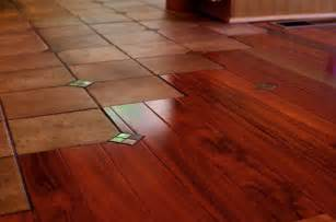 interior traditional wonderful cool amazing tile wood floor transition with brown