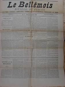Journal Le Perche : belleme 61 journal le bell mois journal du perche ~ Preciouscoupons.com Idées de Décoration