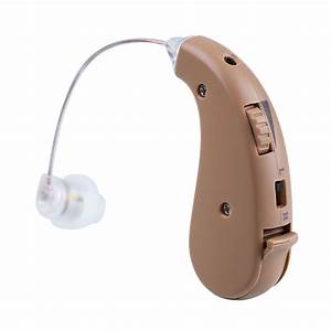 JECPP Digital Hearing Aid Aids Kit Behind the Ear BTE ...