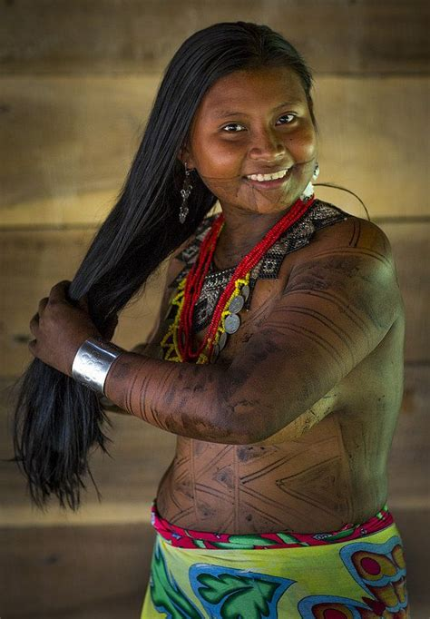 17 Best Images About Panama Embera Tribe On Pinterest