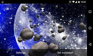 3D Asteroids Live Wallpaper - Android Apps on Google Play