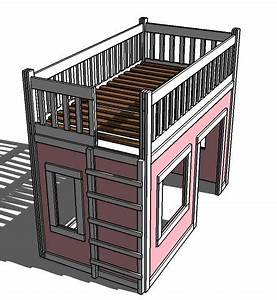 Easy Loft Bed Plans - WoodWorking Projects & Plans