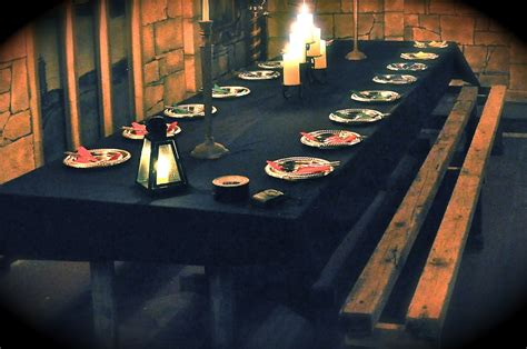 harry potter table l 11 table and benches