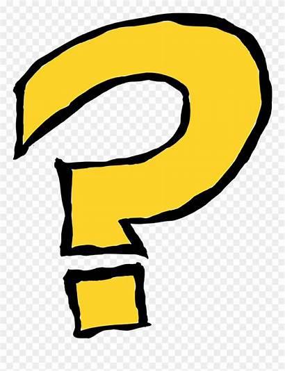Question Mark Cartoon Transparent Vector Clipart Pinclipart