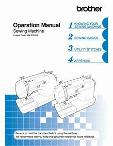 Brother 2340cv Instructions Manual Spiral Bound Color