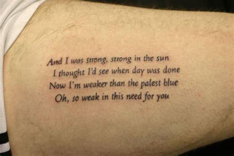 poem tattoo images designs