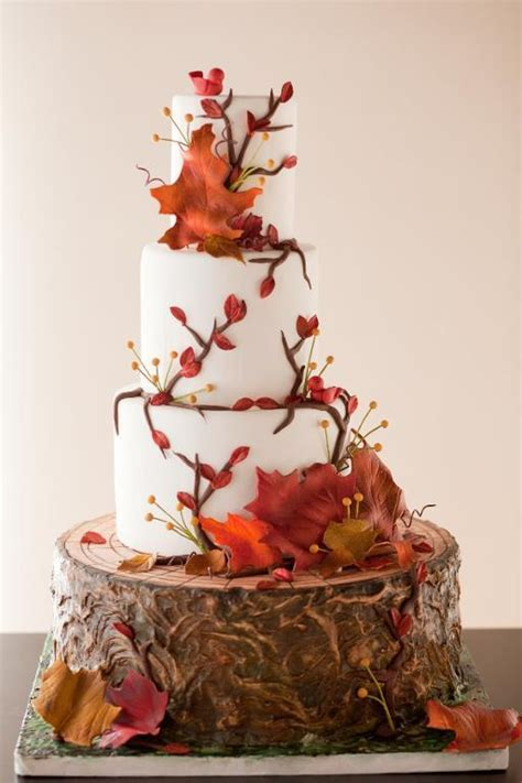 Fall In Love With These Gorgeous Autumninspired Cake Designs