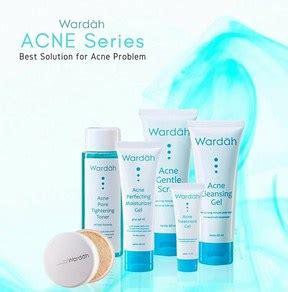 Daftar Harga Rangkaian Produk Wardah Acne Series katalog 143 harga produk wardah kosmetik indonesia 2019