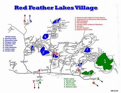 Feather Lakes Map Colorado Lake Cabin Rentals