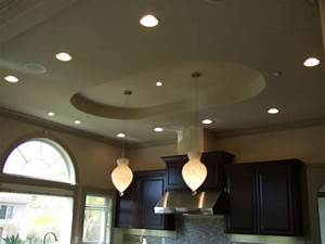 Kitchen lighting recessed cans and pendant over