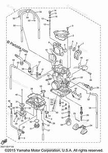 Yamaha Motorcycle 2007 Oem Parts Diagram For Carburetor