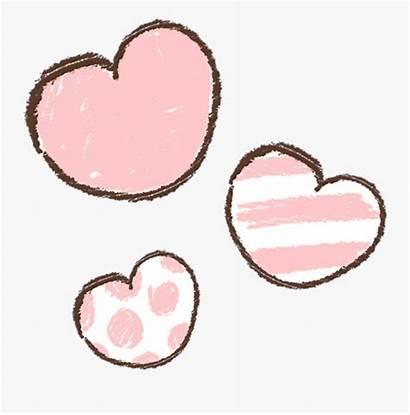 Heart Kawaii Transparent Background Soft Hearts Mochi