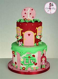 Cakes by Dusty: Liv's Strawberry Shortcake Cake