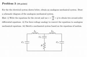 Solved  Problem 3  10 Points  For The The Electrical Syste