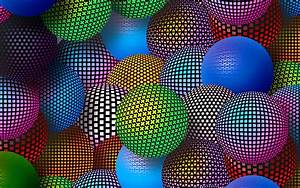 Cool Colorful Glass 3d Background Pc