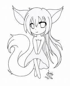 Best Photos of Anime Fox Coloring Pages - Cute Anime Chibi ...