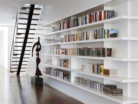 rak buku keren  fungsional desain perpustakaan pribadi