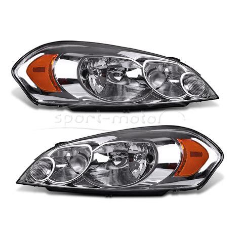 headlight headl chrome housing for 2006 2013 chevy