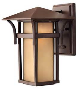hinkley lighting h2570 craftsman mission single light outdoor wall lantern ebay