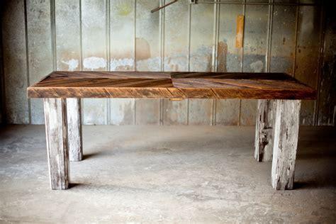 the manning farm table reclaimed wood farm table