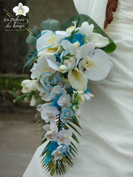 bouquet de mariage bouquet exotique photos mariage bouquets turquoise et