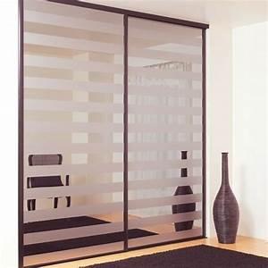 Porte Dressing Sur Mesure : la porte coulissante de placard sur mesure ~ Premium-room.com Idées de Décoration