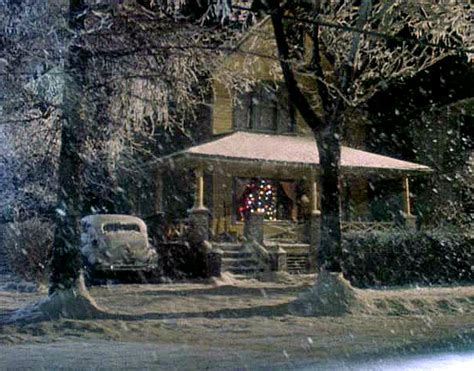 christmas houses in snow quot a story quot ralphie s house in indiana hooked on houses