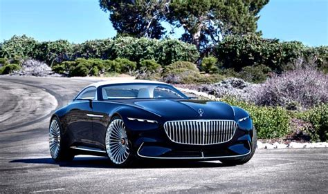 New Maybach 2017 by New 2017 Vision Mercedes Maybach 6 Cabriolet Ev Concept