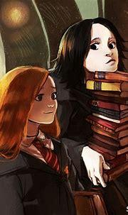 Lily and Severus   Snape harry potter, Harry potter anime ...