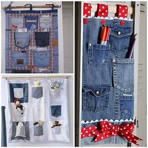 Wonderful, Diy, Hanging, Jeans, Pocket, Organizer