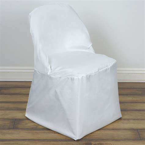 100 pcs polyester folding chair covers wholesale