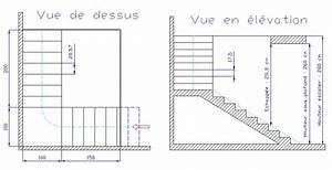 calcul d39un escalier avec palier With ordinary faire un plan maison 8 calculer un escalier droit