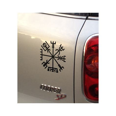 Vegvisir Runic Compass Decal